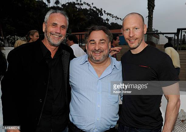 Jake Rose Head of Production Sony Pictures Television Movies and MiniSeries executive producer Leslie Greif and Dirk Hoogstra Senior VP Development...