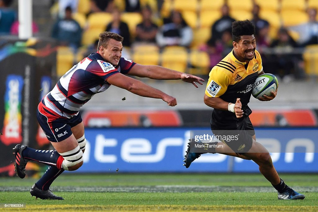 Super Rugby Rd 2 - Hurricanes v Rebels