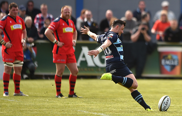 Bedford Blues v Bristol Rugby - Greene King IPA Championship Play Off Semi Final: First Leg : News Photo