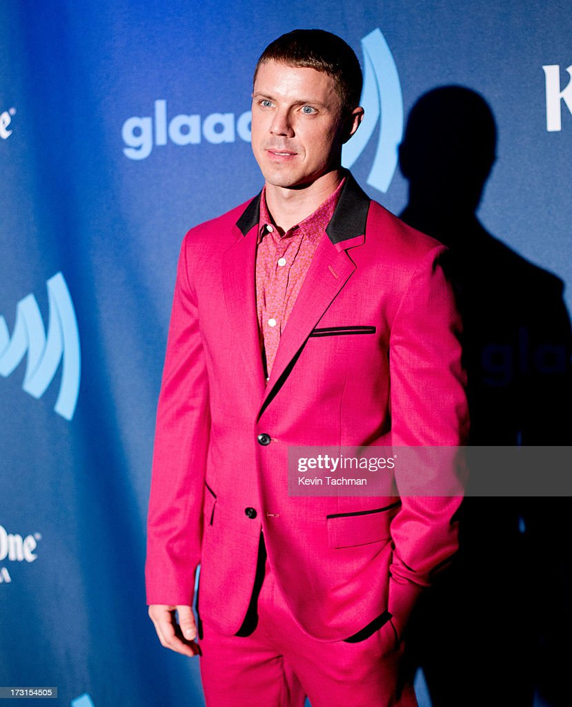 Jake Shears of Scissor Sisters attends the 24th annual GLAAD Media awards at The New York Marriott Marquis on March 16, 2013 in New York City.