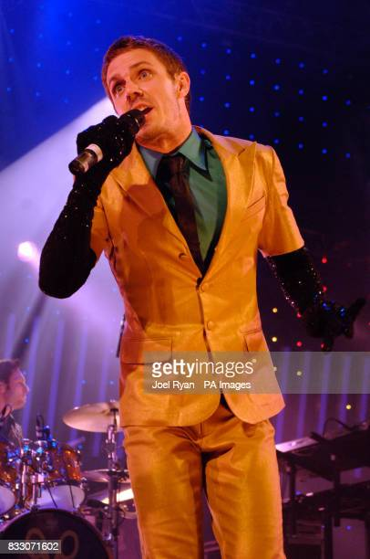 Jake Shears of The Scissor Sisters performs at BBC Radio 1's Big Weekend in Preston