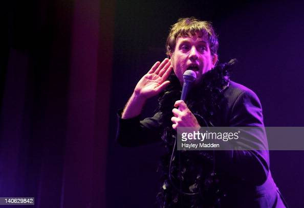 Jake Shillingford of My Life Story performs on stage at Shepherds Bush Empire on March 3 2012 in London United Kingdom