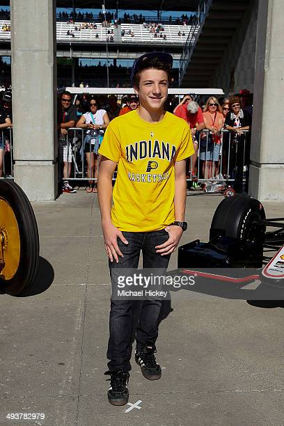 Jake Short attends the 2014 Indy 500 at Indianapolis Motorspeedway on May 25 2014 in Indianapolis Indiana