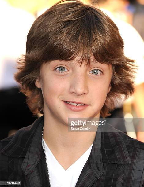 Jake Short attends the 'Real Steel' Los Angeles Premiere at Gibson Amphitheatre on October 2 2011 in Universal City California