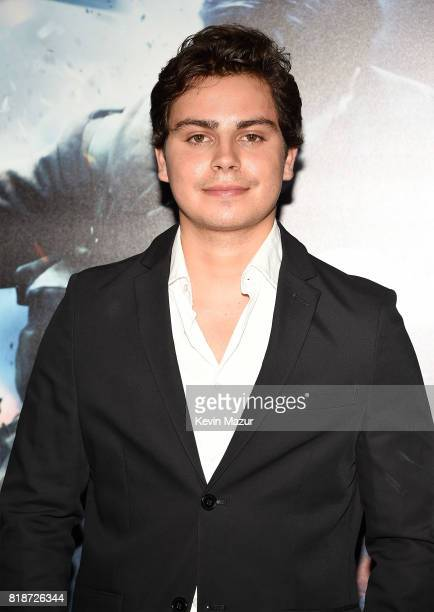 Jake T Austin attends the 'DUNKIRK' premiere in New York City