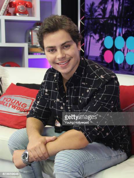 Jake T Austin visits the Young Hollywood Studio on July 26 2017 in Los Angeles California