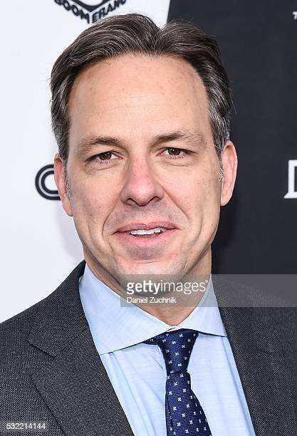 Jake Tapper attends the 2016 Turner Upfront at Nick Stef's Steakhouse on May 18 2016 in New York New York