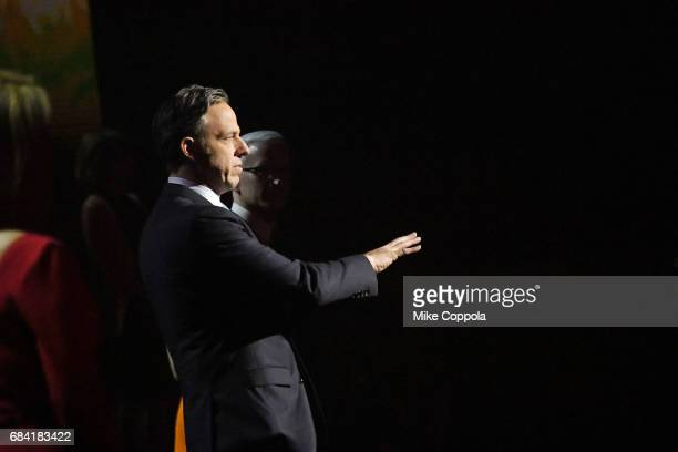 Jake Tapper speaks onstage during the Turner Upfront 2017 show at The Theater at Madison Square Garden on May 17 2017 in New York City 26617_004