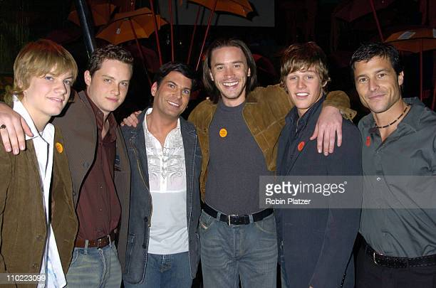 Jake Weary Jesse Soffer David Turtura Tom Pelphrey Zach Roerig and Mark Collier