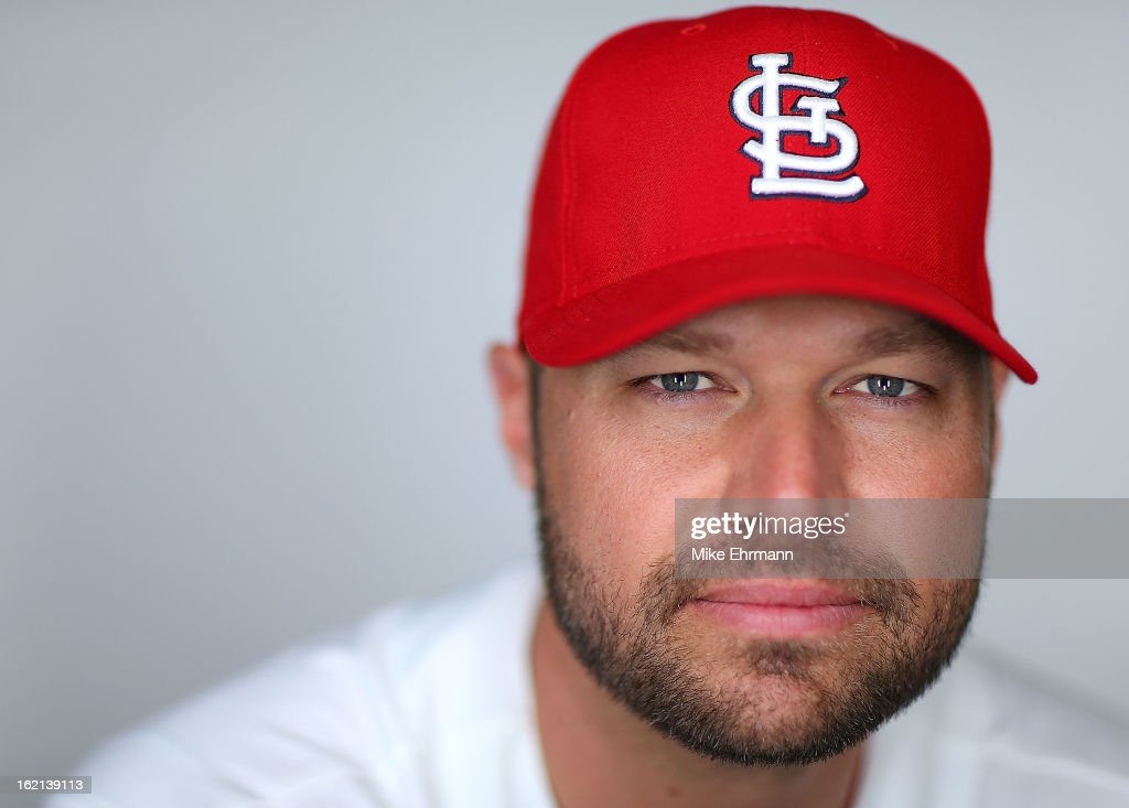 Jake Westbrook #35 of the St. Louis Cardinals of the St. Louis Cardinals poses during photo day at Roger Dean Stadium on February 19, 2013 in Jupiter, Florida.