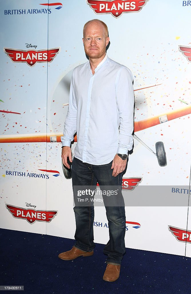 Jake Wood attends a special screening of Disney's 'Planes' at Odeon Leicester Square on July 14, 2013 in London, England.