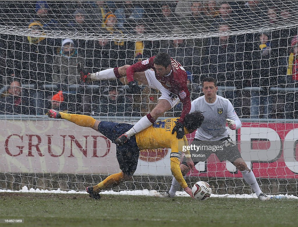 Northampton Town v Oxford United - npower League Two