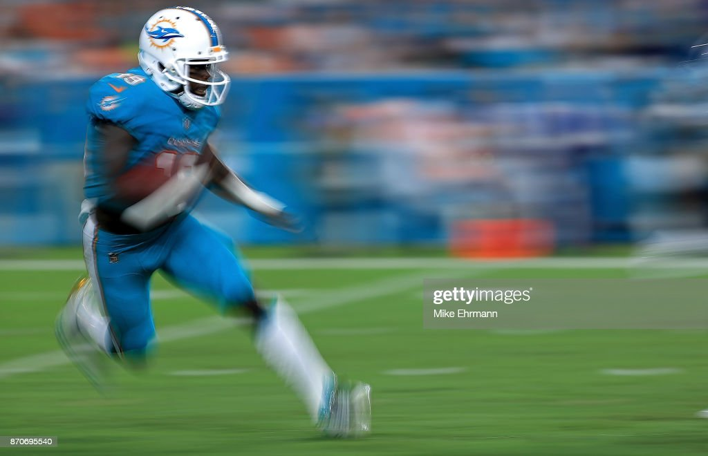 7b4b61545 ... Jakeem Grant 19 of the Miami Dolphins returns a kick during a game  against the .
