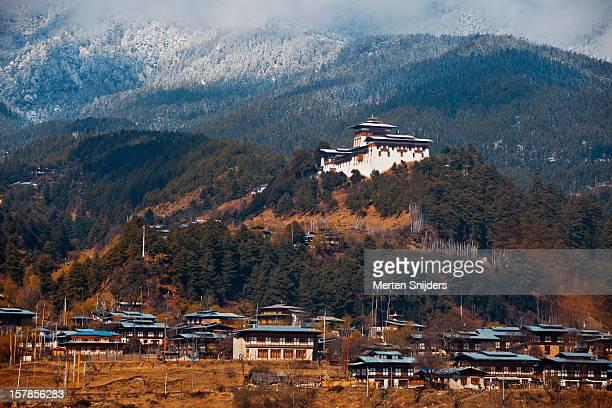 Jakhar Dzong above Jakar