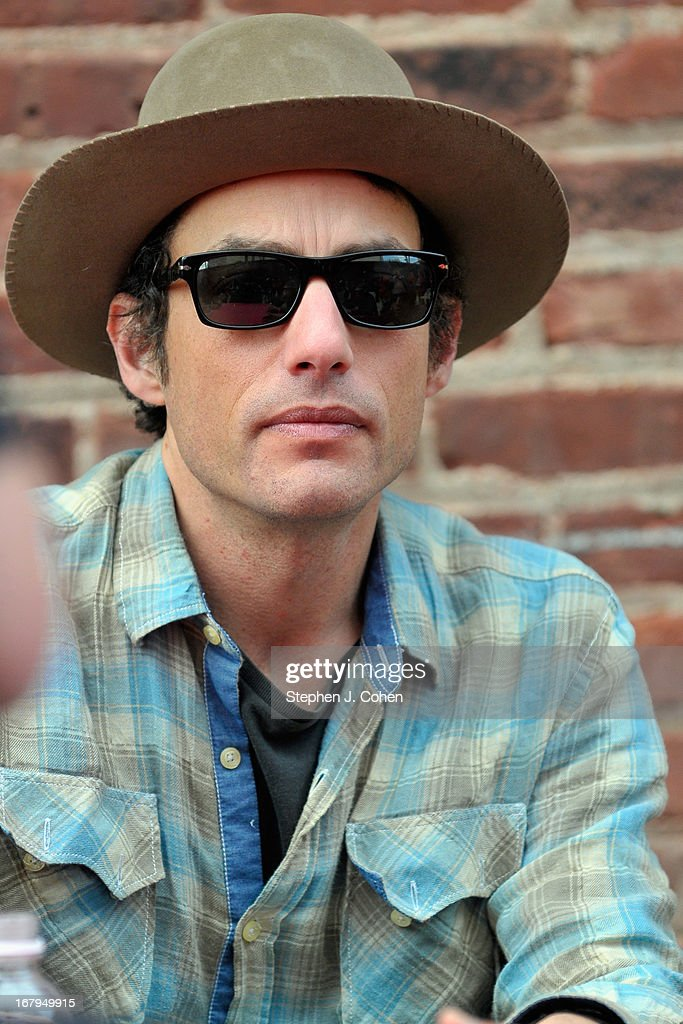 <a gi-track='captionPersonalityLinkClicked' href=/galleries/search?phrase=Jakob+Dylan&family=editorial&specificpeople=211180 ng-click='$event.stopPropagation()'>Jakob Dylan</a> attends Kentucky Derby Festival Pegasus Parade staging area at Louisville Stoneware on May 2, 2013 in Louisville, Kentucky.