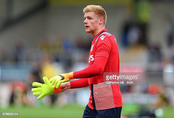 Jakob Haugaard of Stoke City during the PreSeason Friendly match between Burton Albion and Stoke City at Pirelli Stadium on July 16 2016 in...