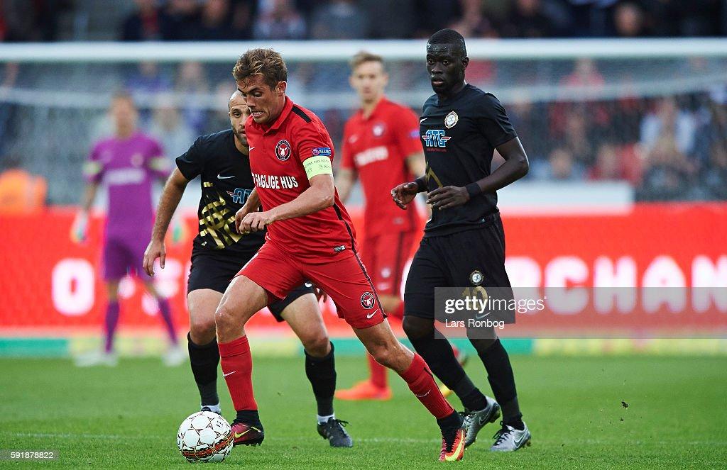 FC Midtjylland vs Osmanlispor FK - UEFA Europa League Playoff