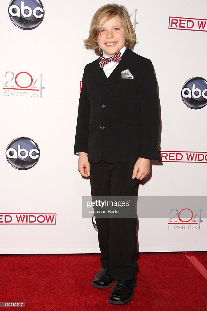 Jakob Salvati attends the ABC's new series 'Red Widow' held at Romanov Restaurant Lounge on February 26, 2013 in Studio City, California.