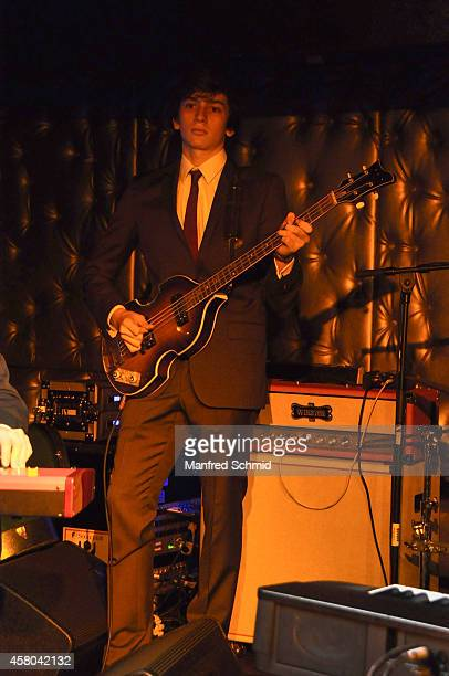 Jakob Schuh performs on stage at Radio Wien Afterwork Clubbing at the Box on October 28 2014 in Vienna Austria