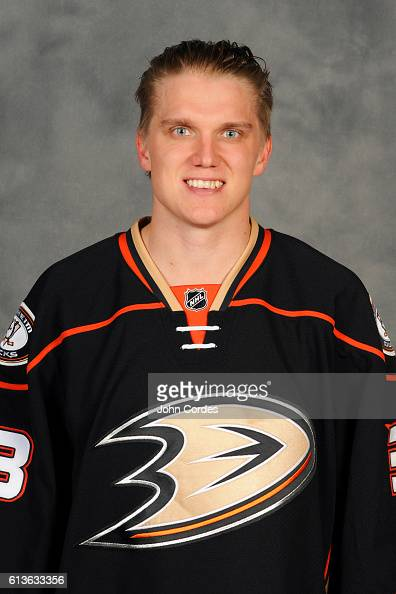 Jakob Silfverberg of the Anaheim Ducks poses for his official headshot for the 20162017 season on October 3 2016 at Honda Center in Anaheim California