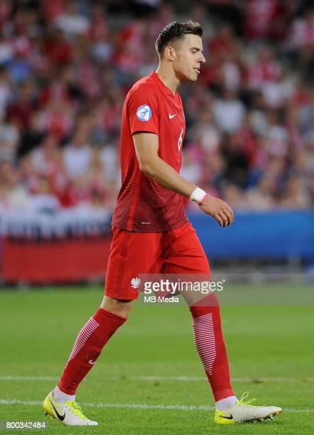 Jakub Bednarek during the UEFA European Under21 match between England and Poland at Kolporter Arena on June 22 2017 in Kielce Poland