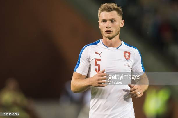 Jakub Brabec of Czech Republicduring the friendly match between Belgium and Czech Republic on June 05 2017 at the Koning Boudewijn stadium in...