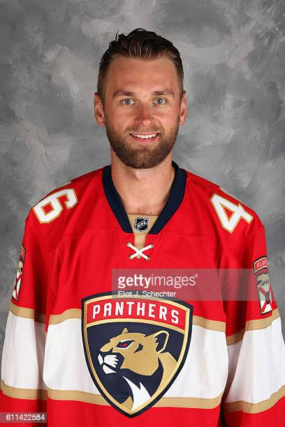 Jakub Kindl of the Florida Panthers poses for his official headshot for the 20162017 season on September 22 2016 at the BBT Center in Sunrise Florida