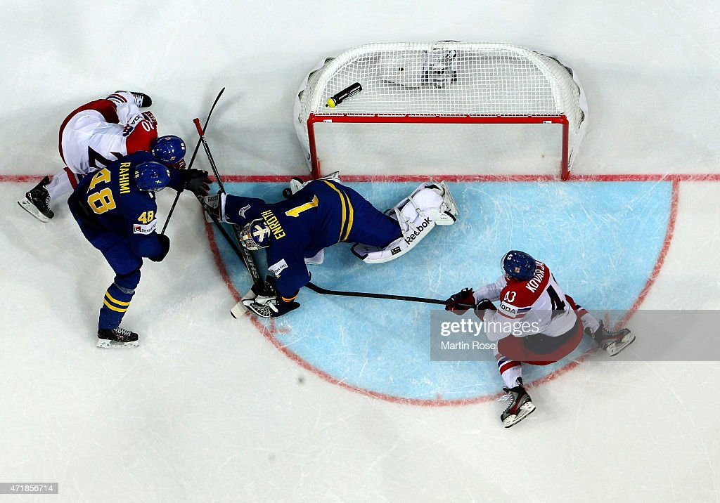 Czech Republic v Sweden - 2015 IIHF Ice Hockey World Championship