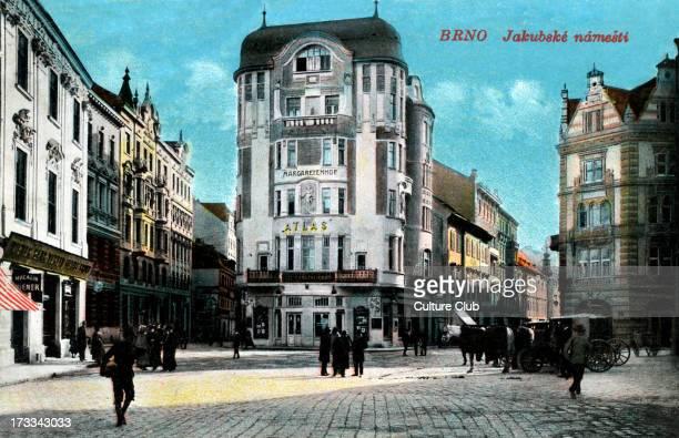 Jakubská Square Brno c 1914 Modern day Czech Republic
