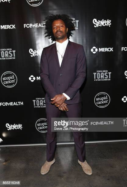 Jaleel Bunton attends Stupid Cancer Toast A 10Year Celebration at The Mezzanine on September 28 2017 in New York City