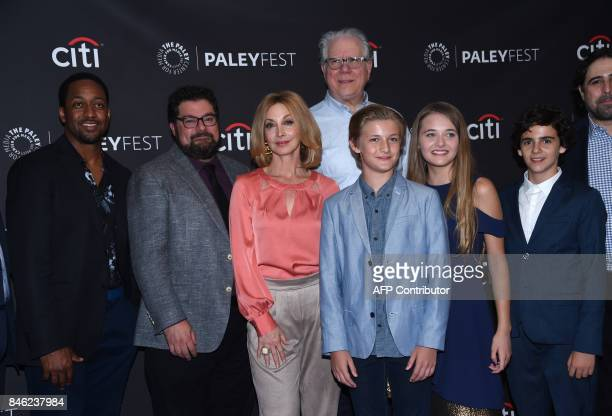 Jaleel White Bobby Moynihan Sharon Lawrence John Larroquette Reylynn Caster Christopher Paul Richards and Jack Dylan Grazer attend the CBS 'Me Myself...