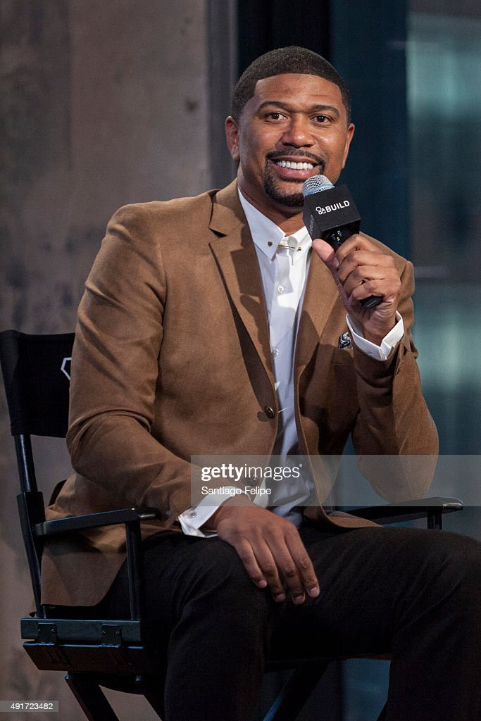 <a gi-track='captionPersonalityLinkClicked' href=/galleries/search?phrase=Jalen+Rose&family=editorial&specificpeople=201704 ng-click='$event.stopPropagation()'>Jalen Rose</a> attends AOL BUILD Presents 'Got To Give People What They Want' at AOL Studios In New York on October 7, 2015 in New York City.