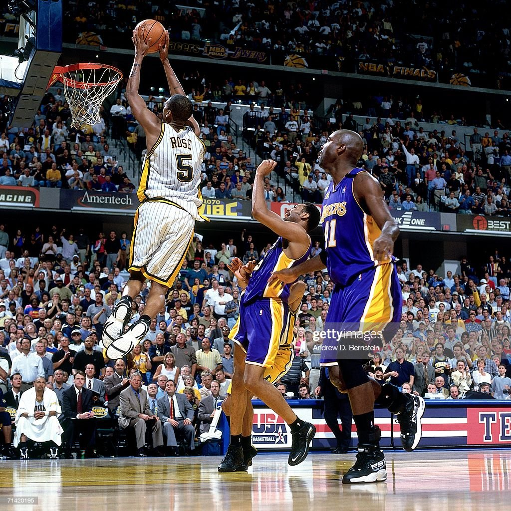 2000 NBA Finals Game 5 Los Angeles Lakers vs Indiana Pacers