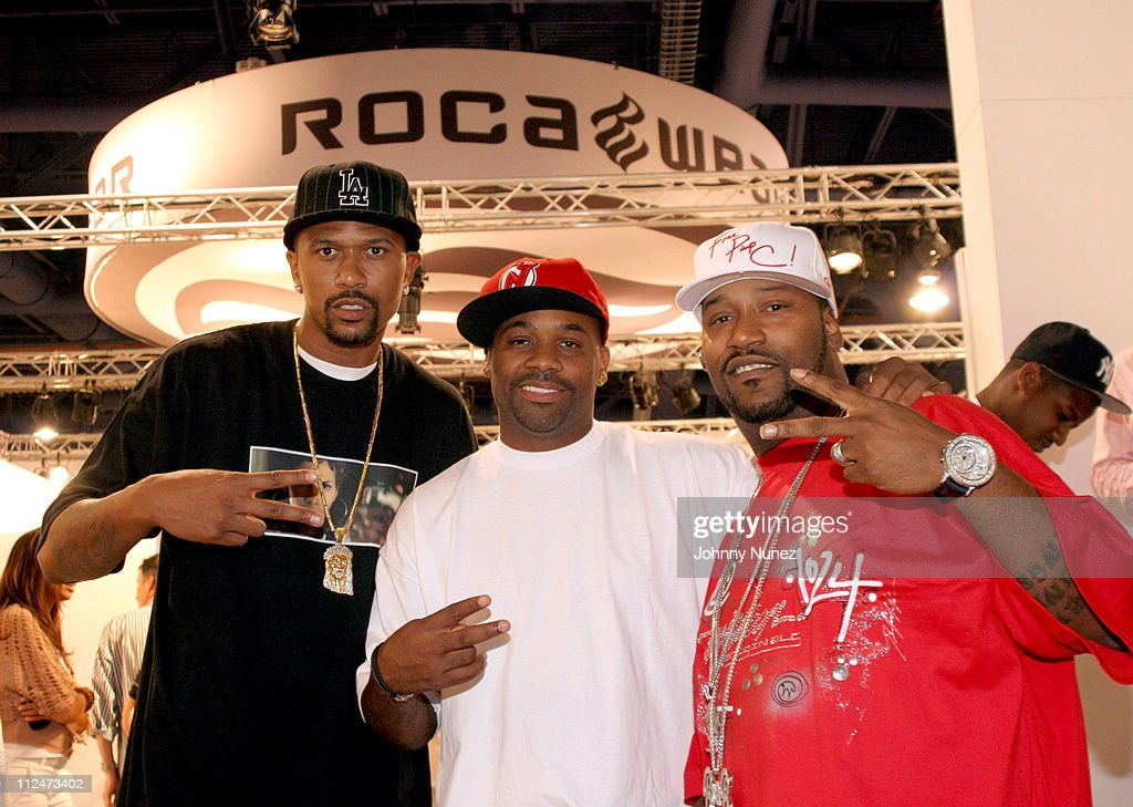 <a gi-track='captionPersonalityLinkClicked' href=/galleries/search?phrase=Jalen+Rose&family=editorial&specificpeople=201704 ng-click='$event.stopPropagation()'>Jalen Rose</a>,Dame Dash and Bun B during 2005 Magic Convention - Fall Season - Day 2 - Celebrity Sighting at Las Vages Convention Center in Las Vages, Nevada, United States.