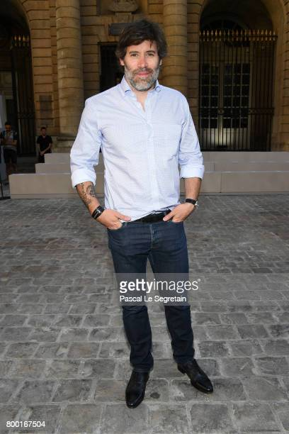 Jalil Lespert attends the Berluti Menswear Spring/Summer 2018 show as part of Paris Fashion Week on June 23 2017 in Paris France