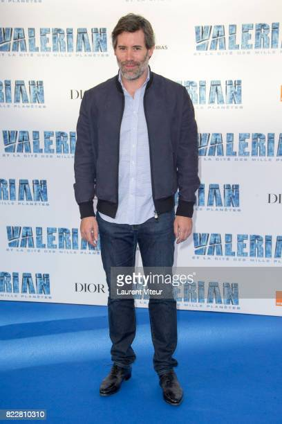 Jalil Lespert attends 'Valerian et la Cite desMille Planetes' Paris Premiere at La Cite Du Cinema on July 25 2017 in SaintDenis France