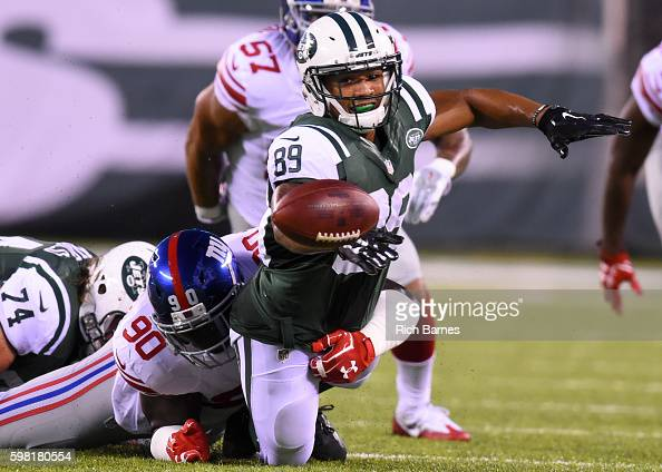 Image result for jalin marshall jets fumble
