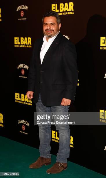 Jalis de la Serna attends 'El Bar' premiere at Callao cinema on March 22 2017 in Madrid Spain