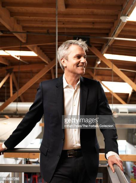 Jam City's cofounder and CEO Chris DeWolfe is photographed for Forbes Magazine on May 17 2017 in Culver City California CREDIT MUST READ Ethan...