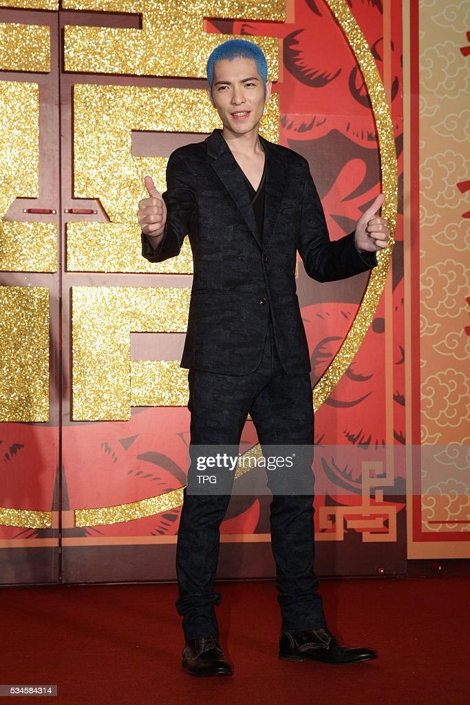 Jam Hsiao attends hand in handrock the global music industry compose perfect music achievement collectively on 26th May 2016 in Taipei Taiwan China