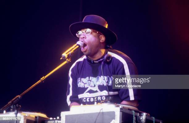 Jam Master Jay of Run DMC performs on stage at Respect Festival Finsbury Park London 21st July 2001