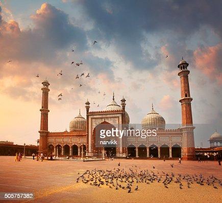 Jama Masjid Mosque in Delhi