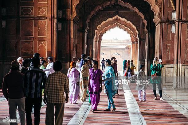 Jama Masjid Mosque visitors