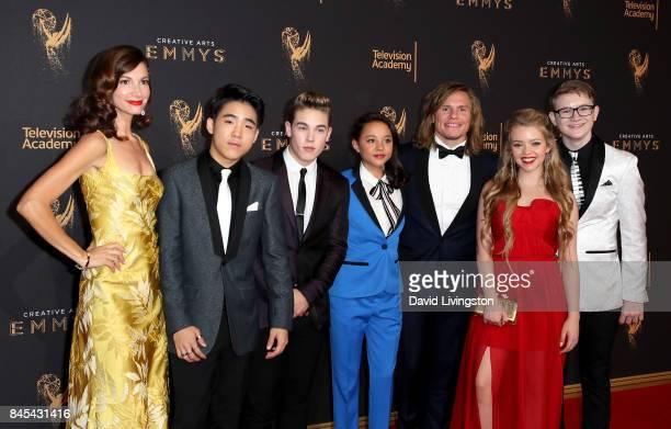 Jama Williamson Lance Lim Ricardo Hurtado Breanna Yde Tony Cavalero Jade Pettyjohn and Aidan Miner attend the 2017 Creative Arts Emmy Awards at...