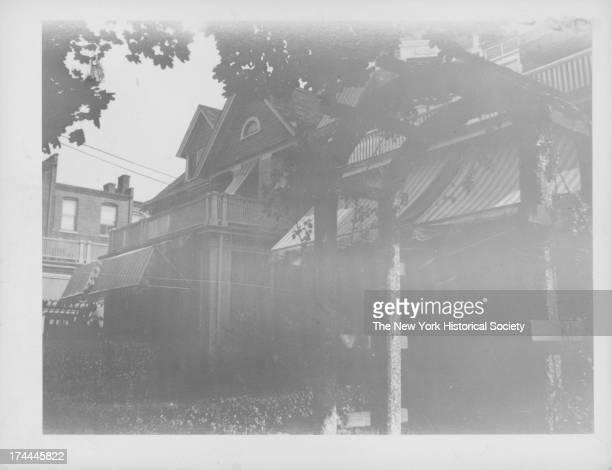 George A Crane House east side of 114th Street 100 feet south of Jamaica Avenue on former Stoothoff farm New York New York 1934