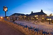 Jamaica Inn at Night, Bolventor, Bodmin Moor. Cornwall. England. UK.