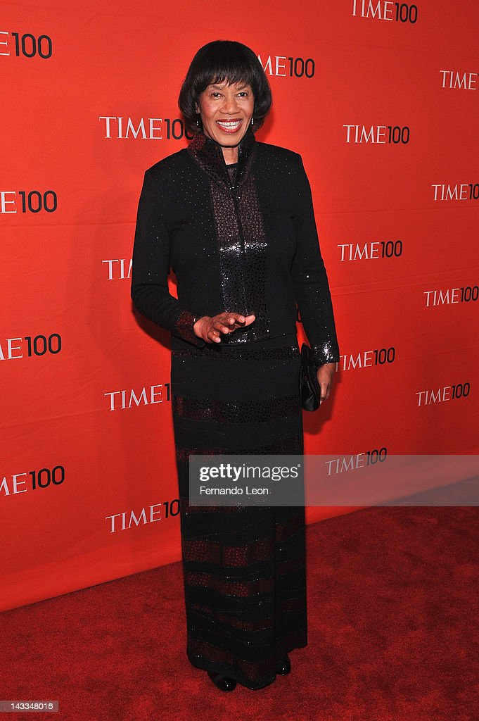 Jamaica Prime minister Portia Simpson-Miller attends the TIME 100 Gala celebrating TIME'S 100 Most Influential People In The World at Jazz at Lincoln Center on April 24, 2012 in New York City.