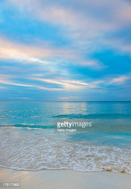 Jamaica, Seascape at sunset