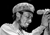 Jamaican Reggae pioneer Jimmy Cliff performs live in 1978 in Ann Arbor Michigan