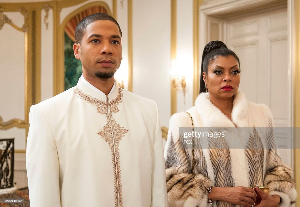 Jamal and Cookie attend the all white party in the 'The Lyon's Roar' episode of EMPIRE airing Wednesday Feb 25 on FOX